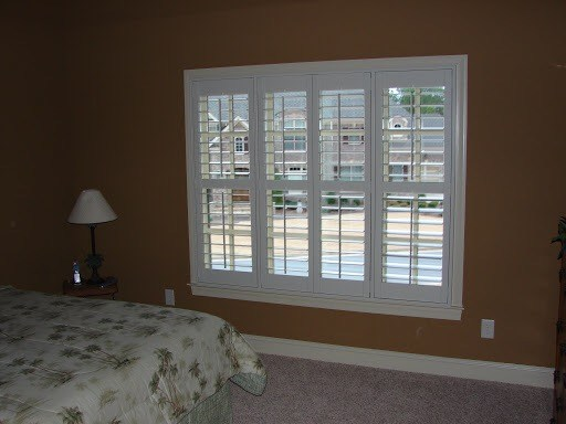 hardwood plantation shutter in atlanta
