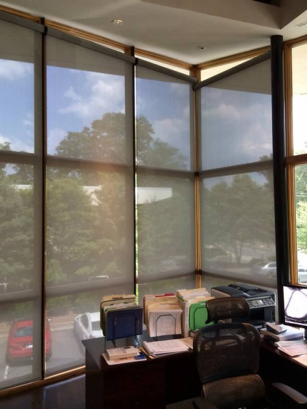 sunscreen commercial roller shades sandy springs ga
